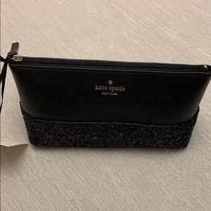 Kate Spade Black Cosmetic Bag